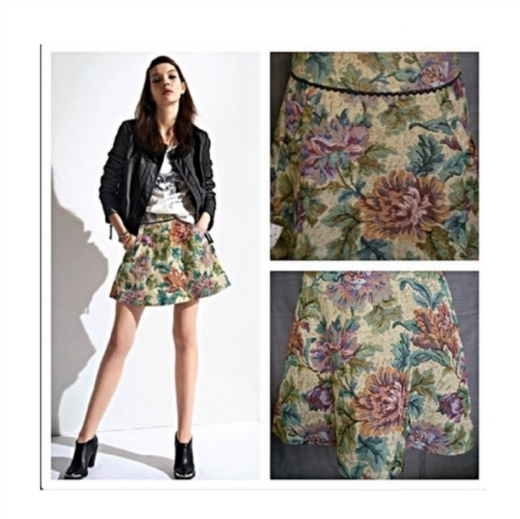 992599cad Free People Dresses & Skirts - Free People Tapestry Skirt